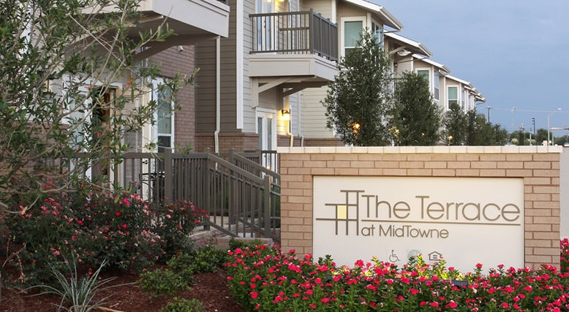 Terrace At Midtowne Entrance